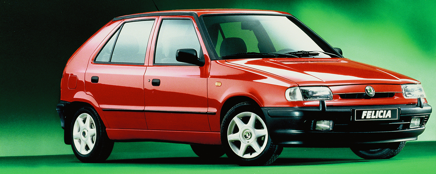 skoda-felicia-model-old-red-promo