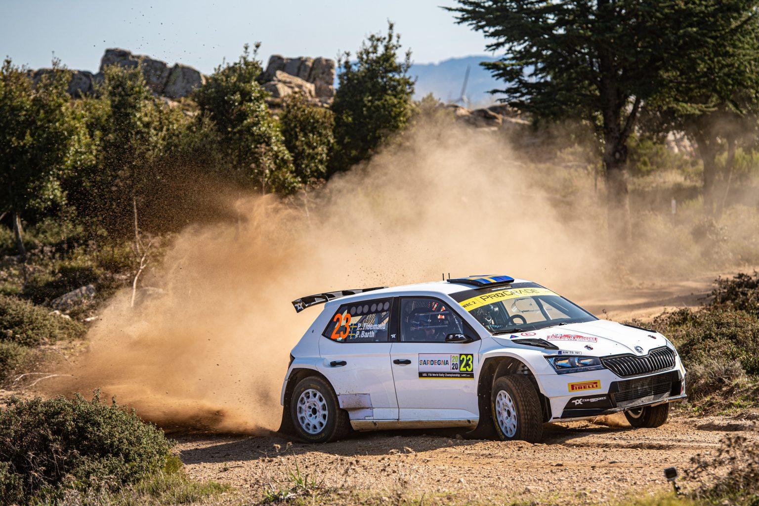 2. leg Rally Italia Sardegna 2020, (ITA), WRC 2, Pontus Tidemand/Patrik Barth (SWE/SWE)