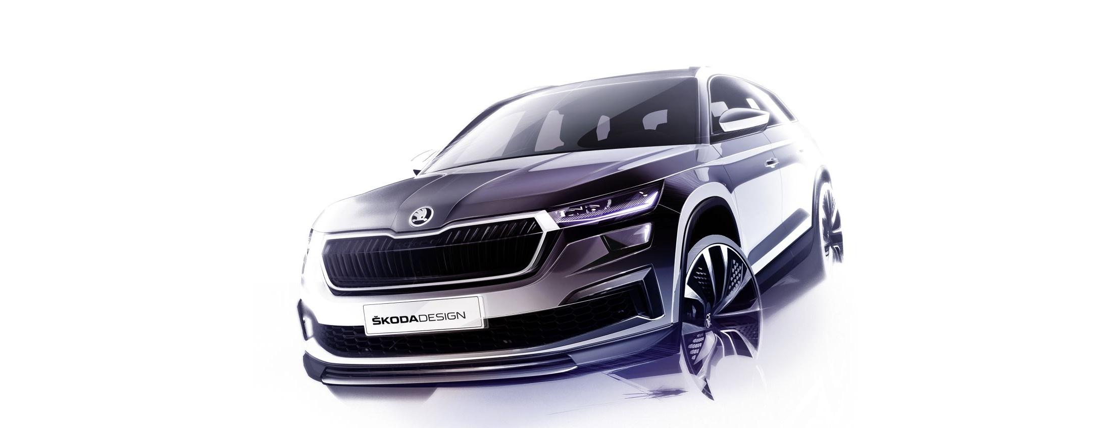 Skoda_Kodiaq-facelift-designova_skica-1